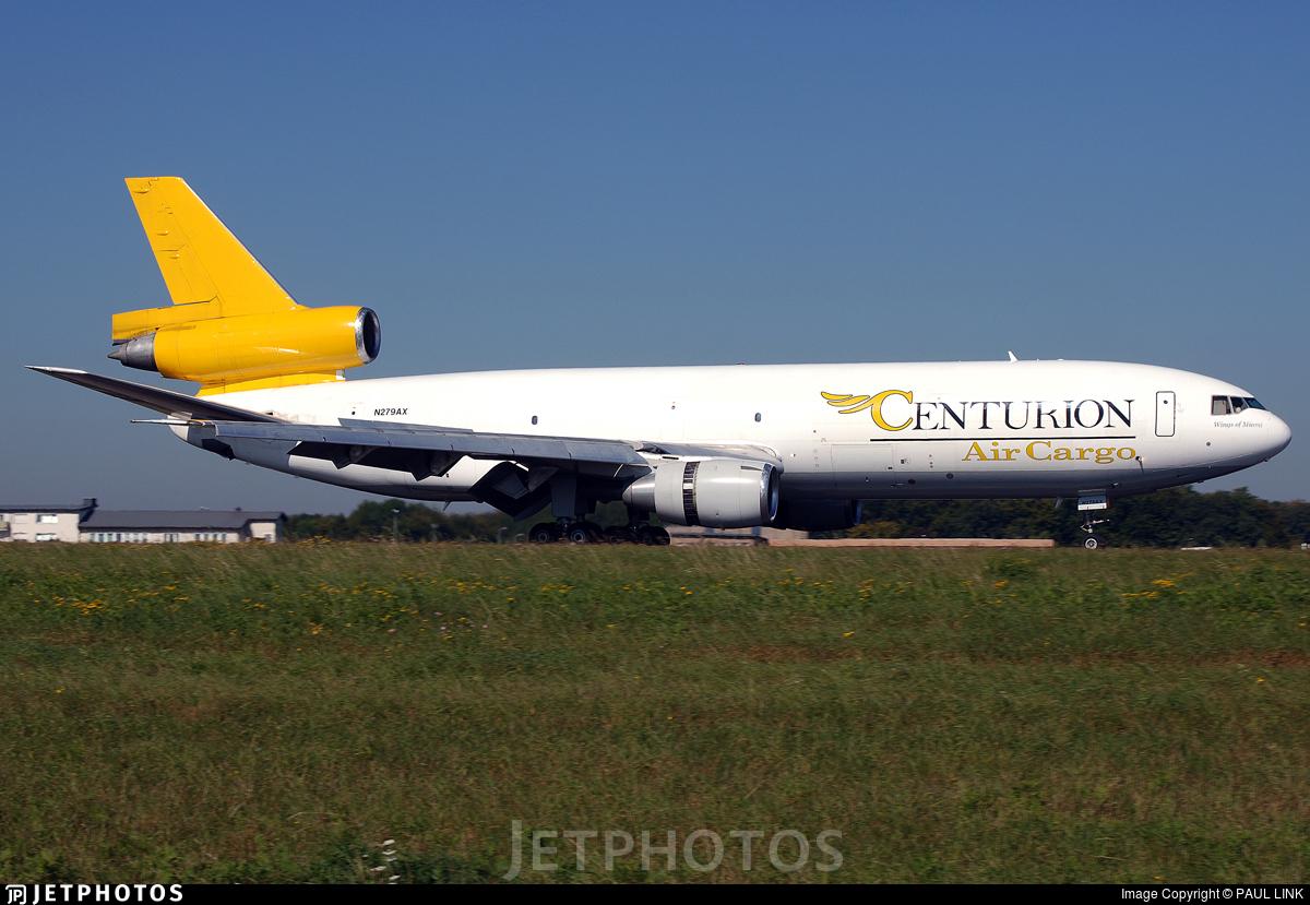 N279AX - McDonnell Douglas DC-10-30(F) - Centurion Air Cargo
