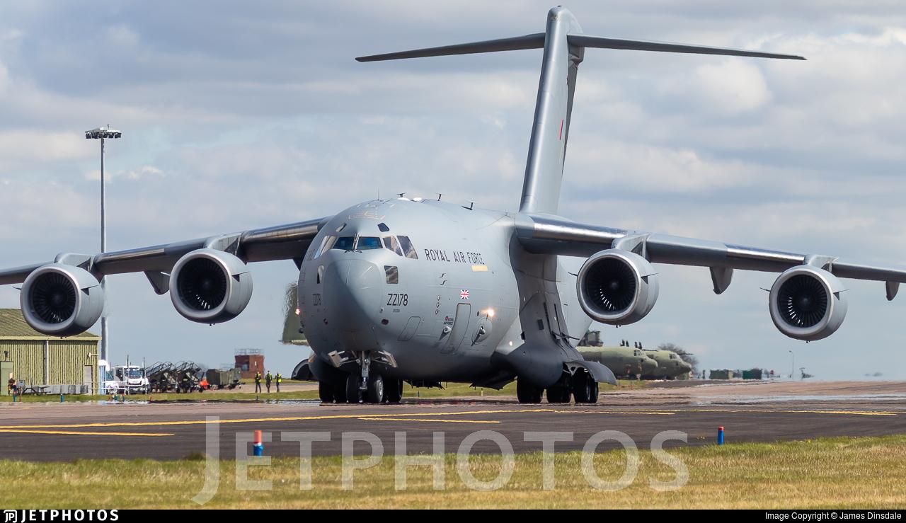 ZZ178 - Boeing C-17A Globemaster III - United Kingdom - Royal Air Force (RAF)