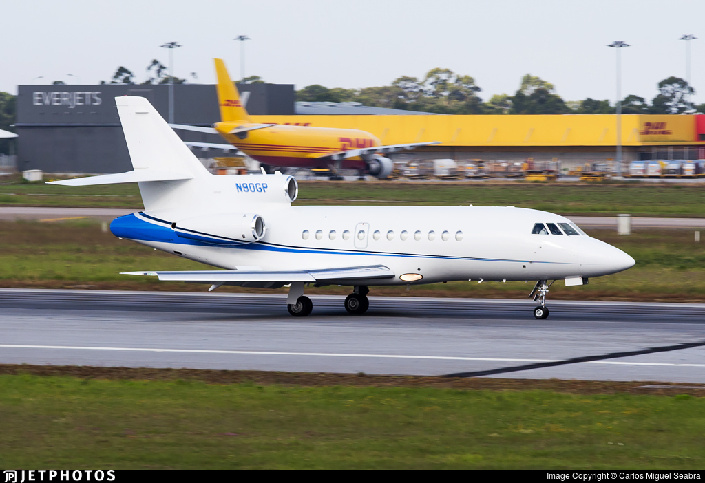 N90GP - Dassault Falcon 900 - Private