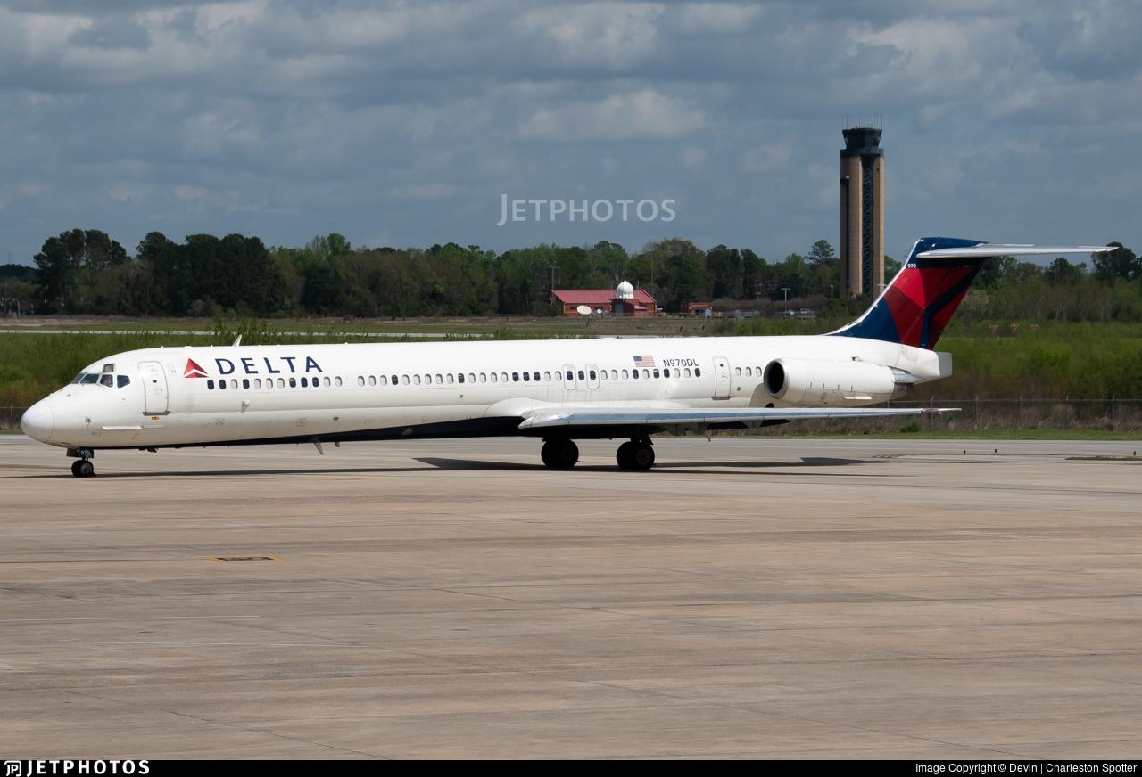 N970DL - McDonnell Douglas MD-88 - Delta Air Lines