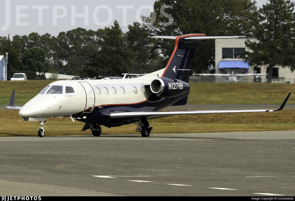 N127HB - Embraer 505 Phenom 300 - Private