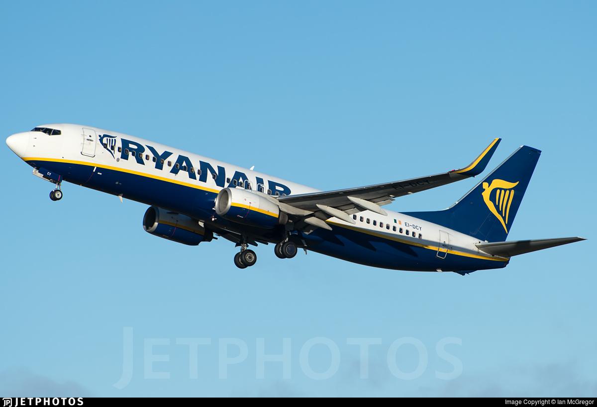 EI-DCY - Boeing 737-8AS - Ryanair