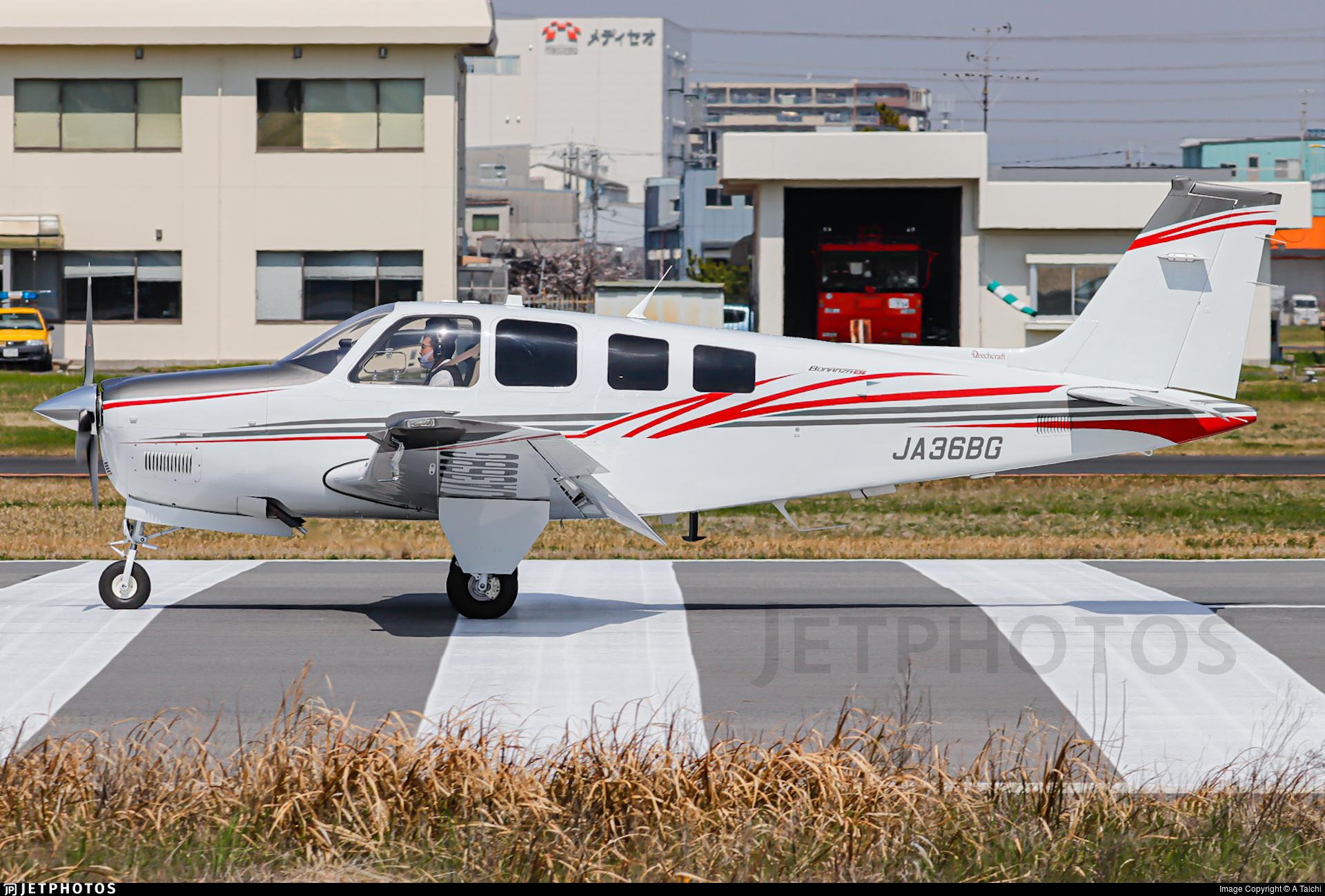 JA36BG - Beechcraft G36 Bonanza - Noevir Aviation