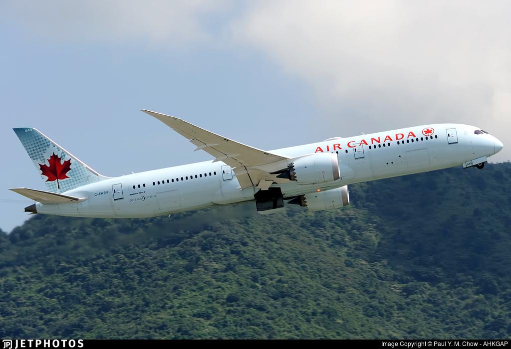 C-FKSV - Boeing 787-9 Dreamliner - Air Canada