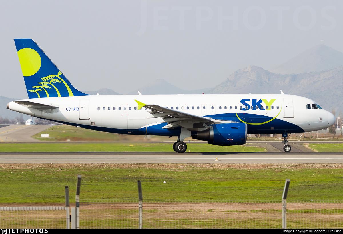 CC-AIB - Airbus A319-111 - Sky Airline