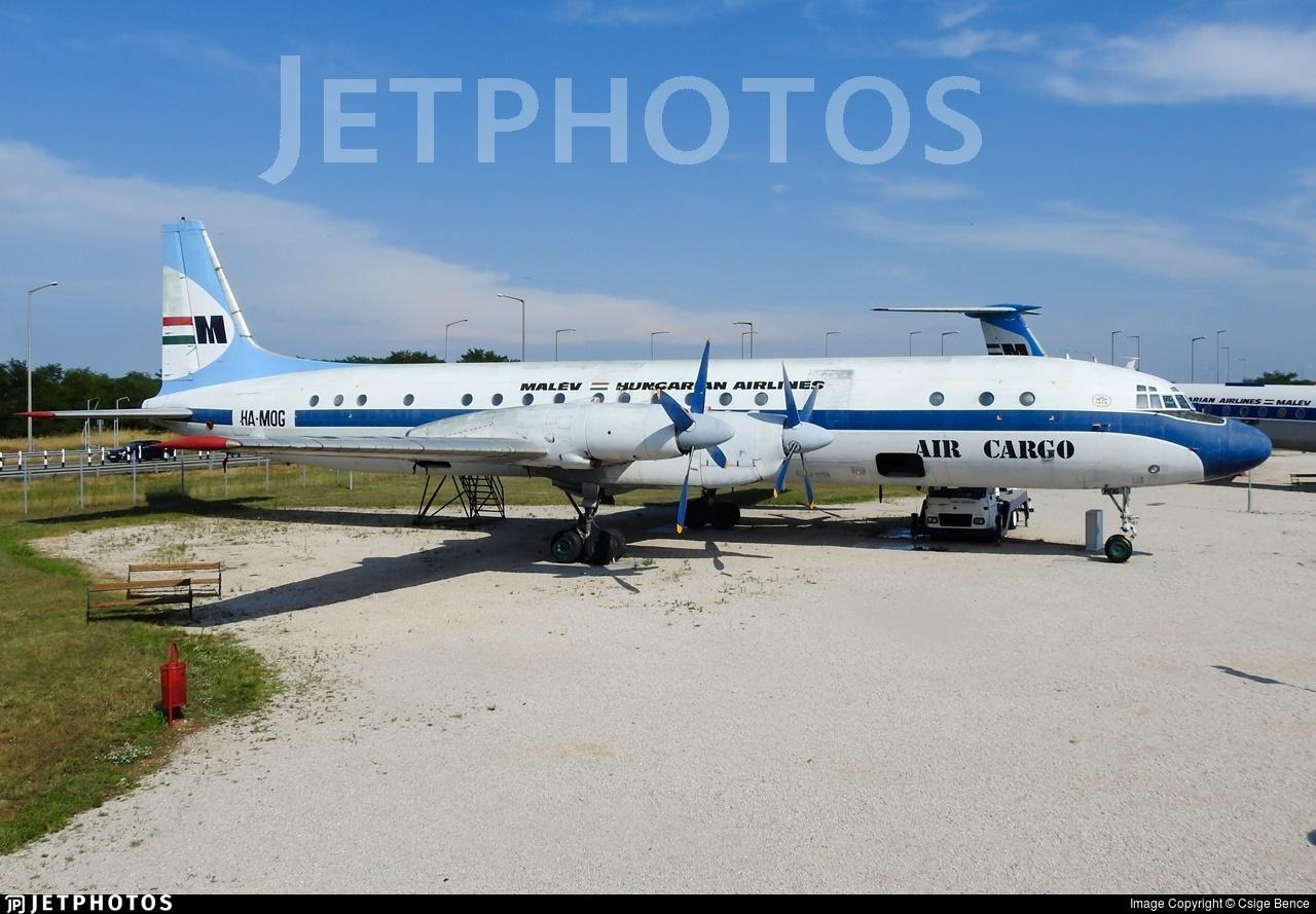 HA-MOG - Ilyushin IL-18V - Malév Hungarian Airlines