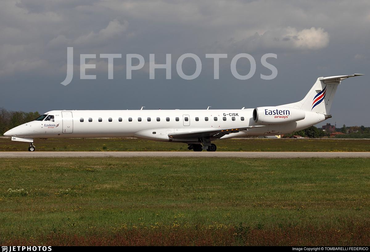 G-CISK - Embraer ERJ-145LU - Eastern Airways