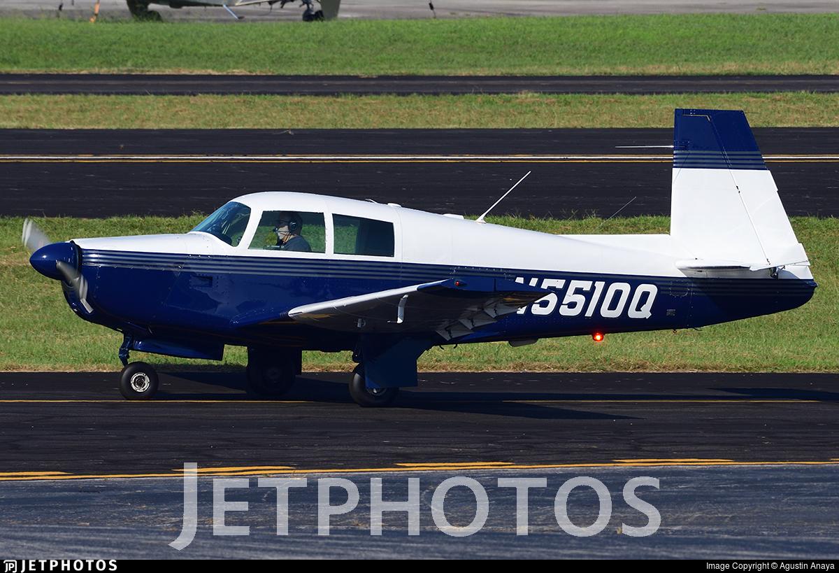 N5510Q - Mooney M20E - Private
