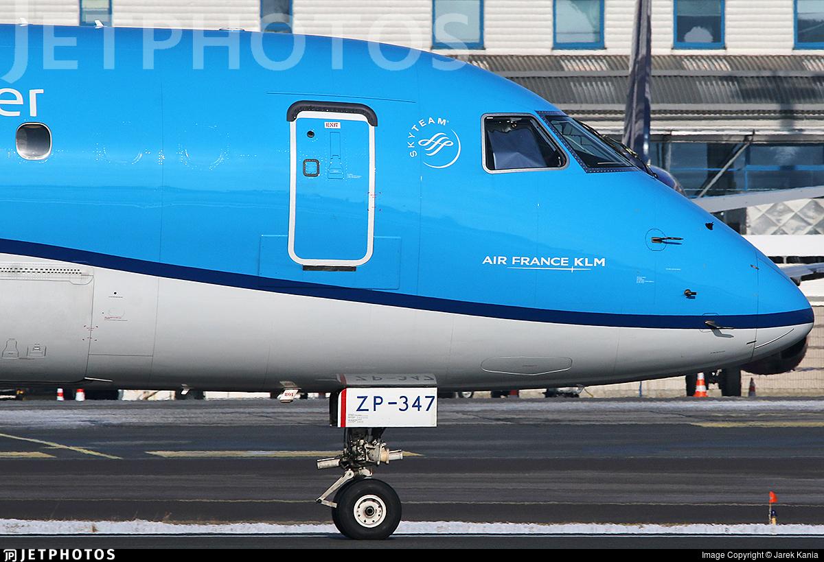 PH-EZP - Embraer 190-100STD - KLM Cityhopper