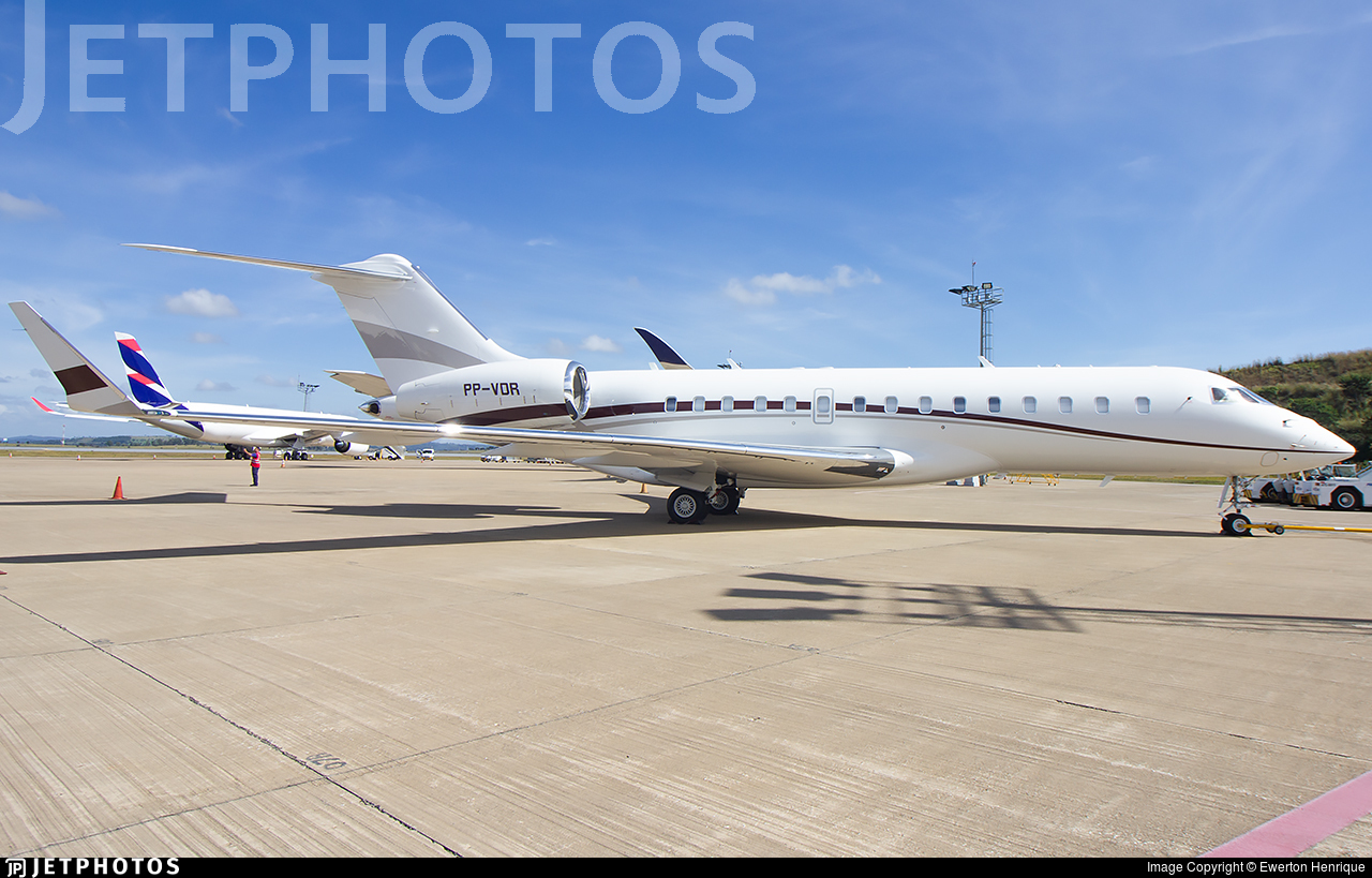 PP-VDR - Bombardier BD-700-1A10 Global Express - Private