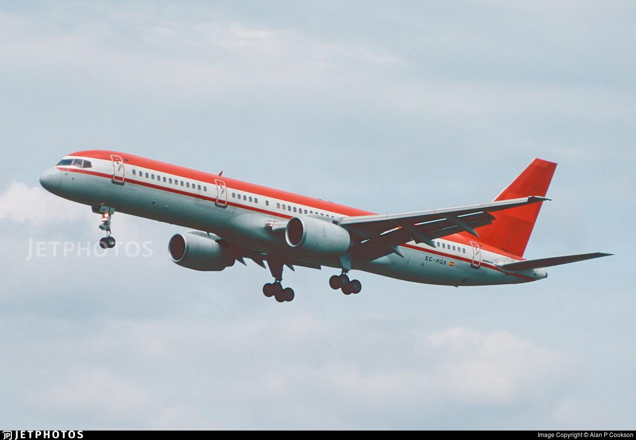 EC-HQX - Boeing 757-2G5 - LTE International Airways