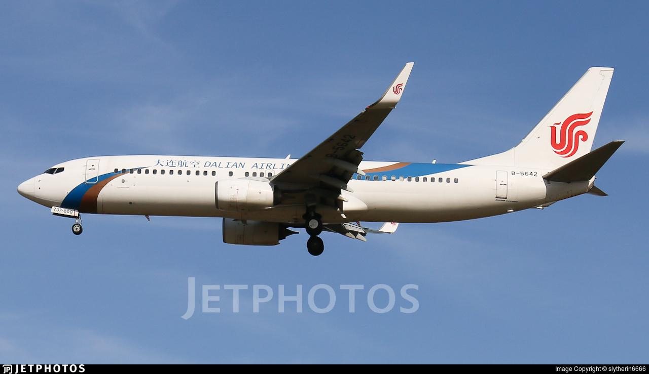 B-5642 - Boeing 737-89L - Dalian Airlines