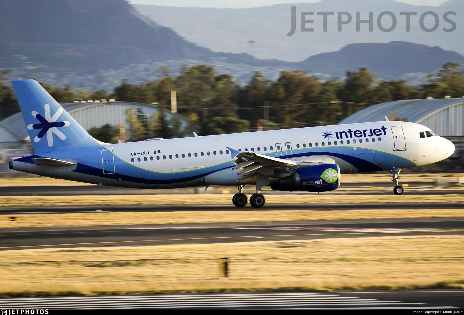 XA-INJ - Airbus A320-214 - Interjet