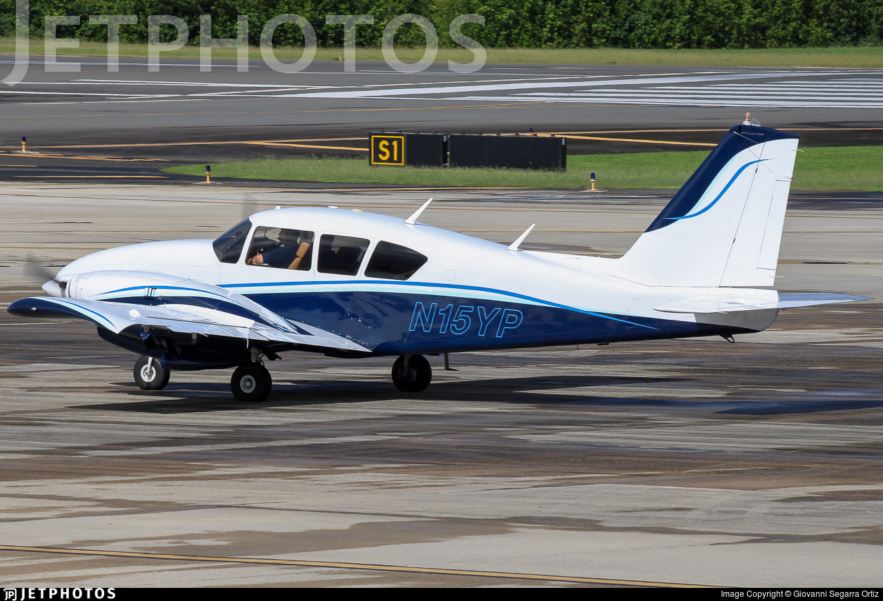 N15YP - Piper PA-23-250 Aztec - Private