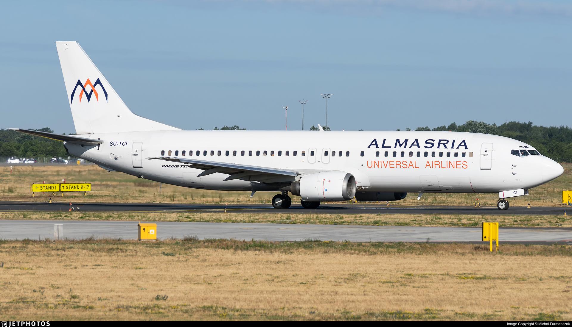 SU-TCI - Boeing 737-446 - Almasria Universal Airlines