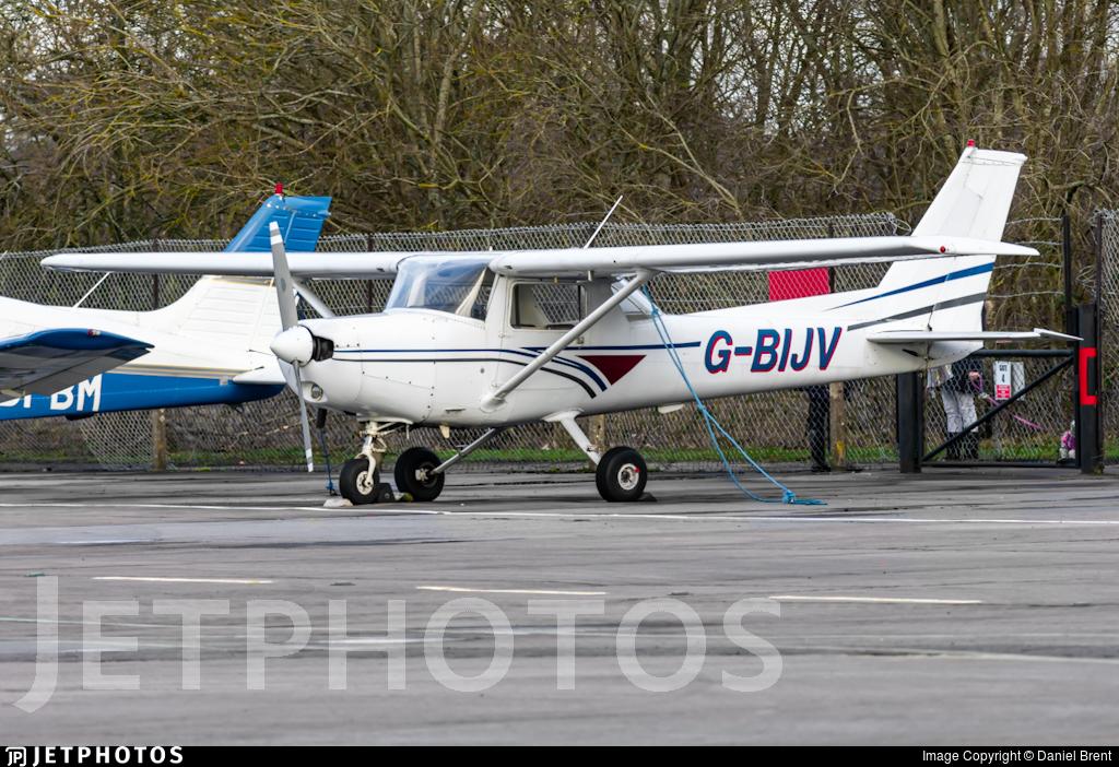 G-BIJV - Reims-Cessna F152 - Falcon Flying Services