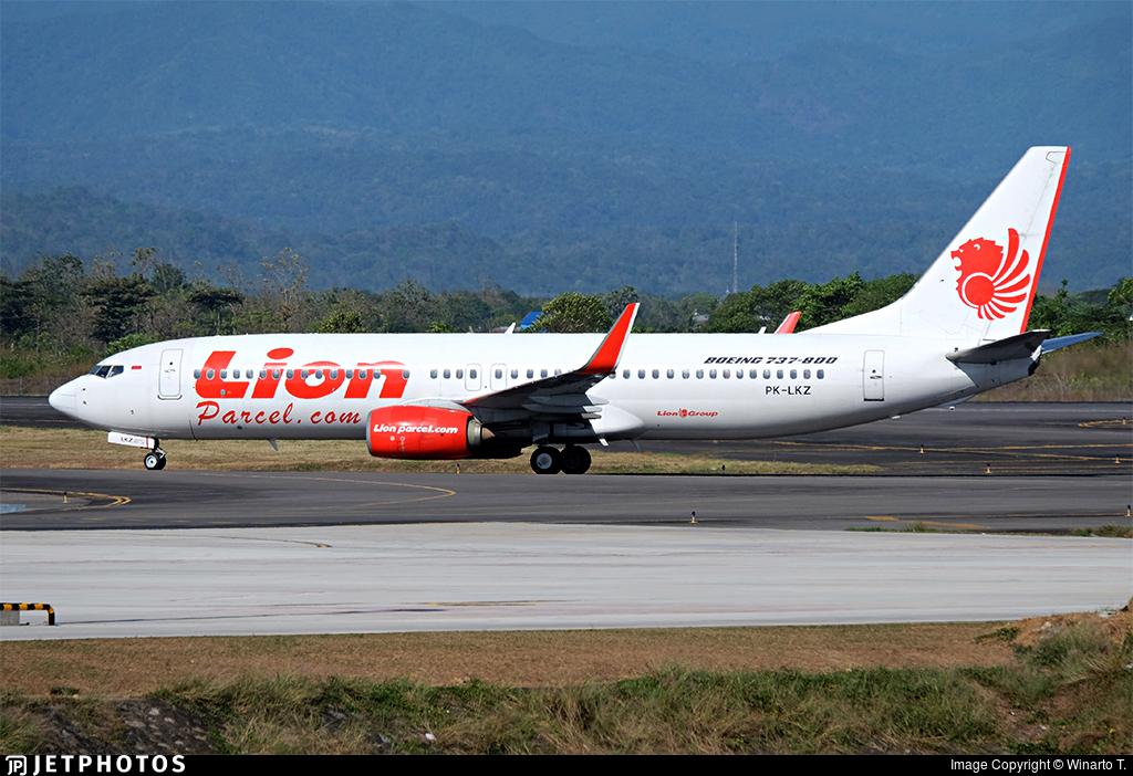 PK-LKZ - Boeing 737-8GP - Lion Air