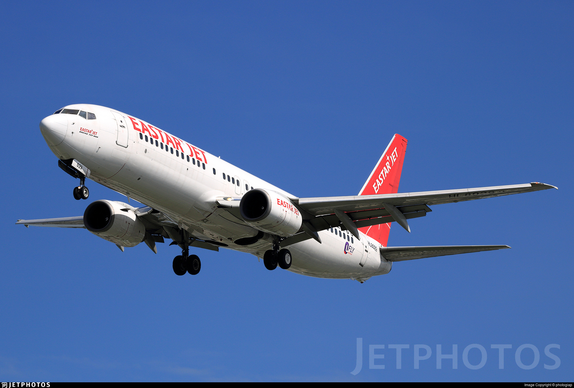 HL8029 - Boeing 737-86N - Eastar Jet