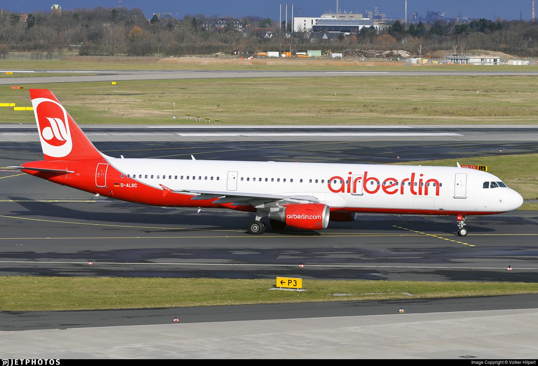 D-ALSC - Airbus A321-211 - Air Berlin