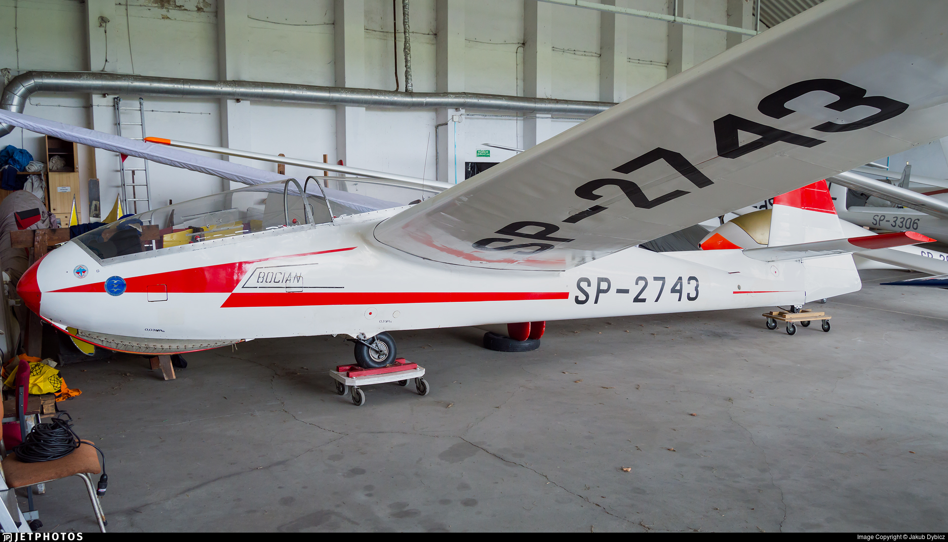 SP-2743 - SZD 9bis Bocian 1E - Aero - Club Kujawski