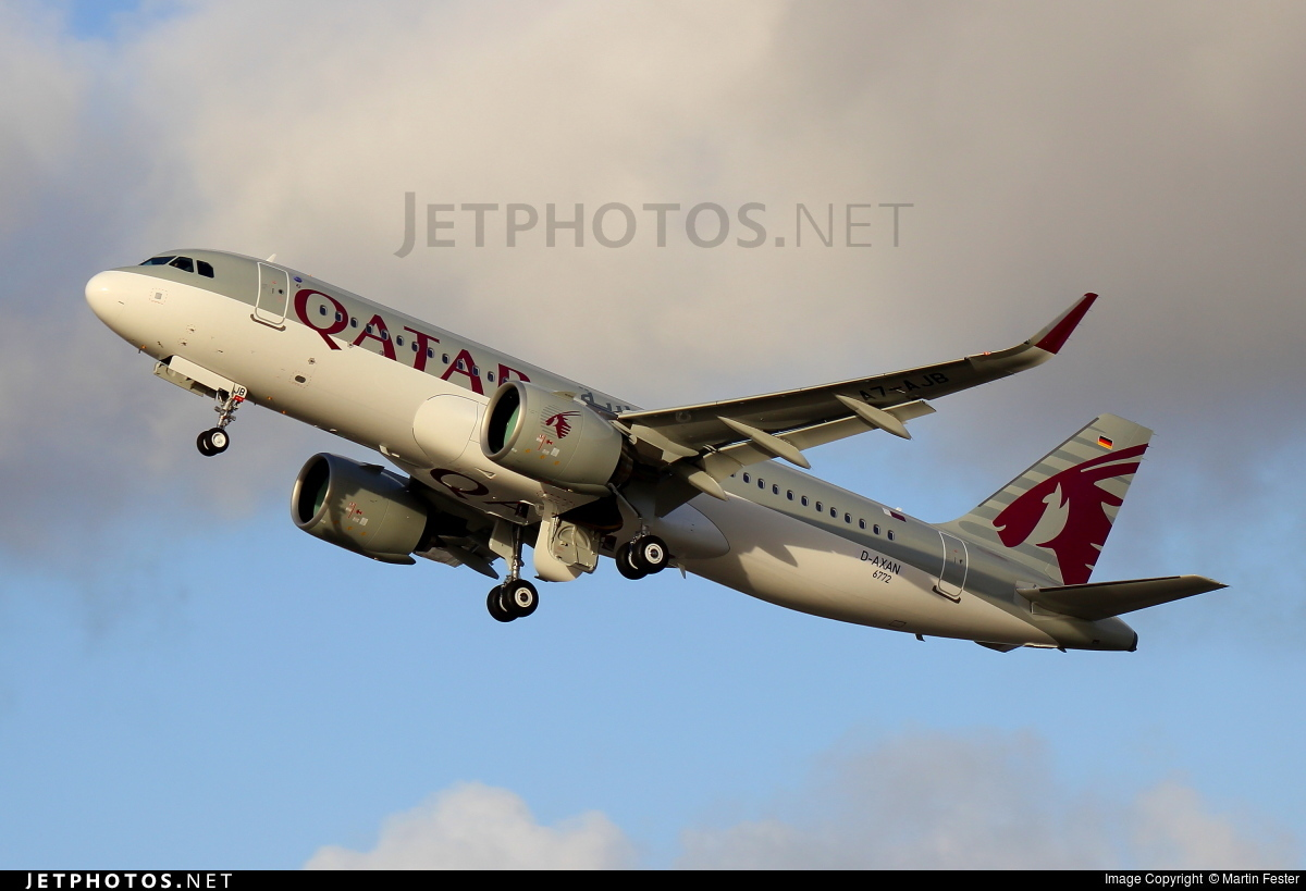 D-AXAN - Airbus A320-271N - Qatar Airways