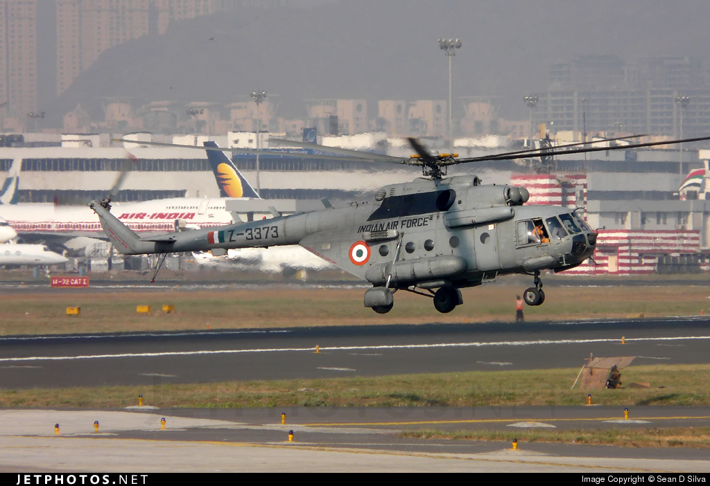 Z-3373 - Mil Mi-17-1V Hip - India - Air Force
