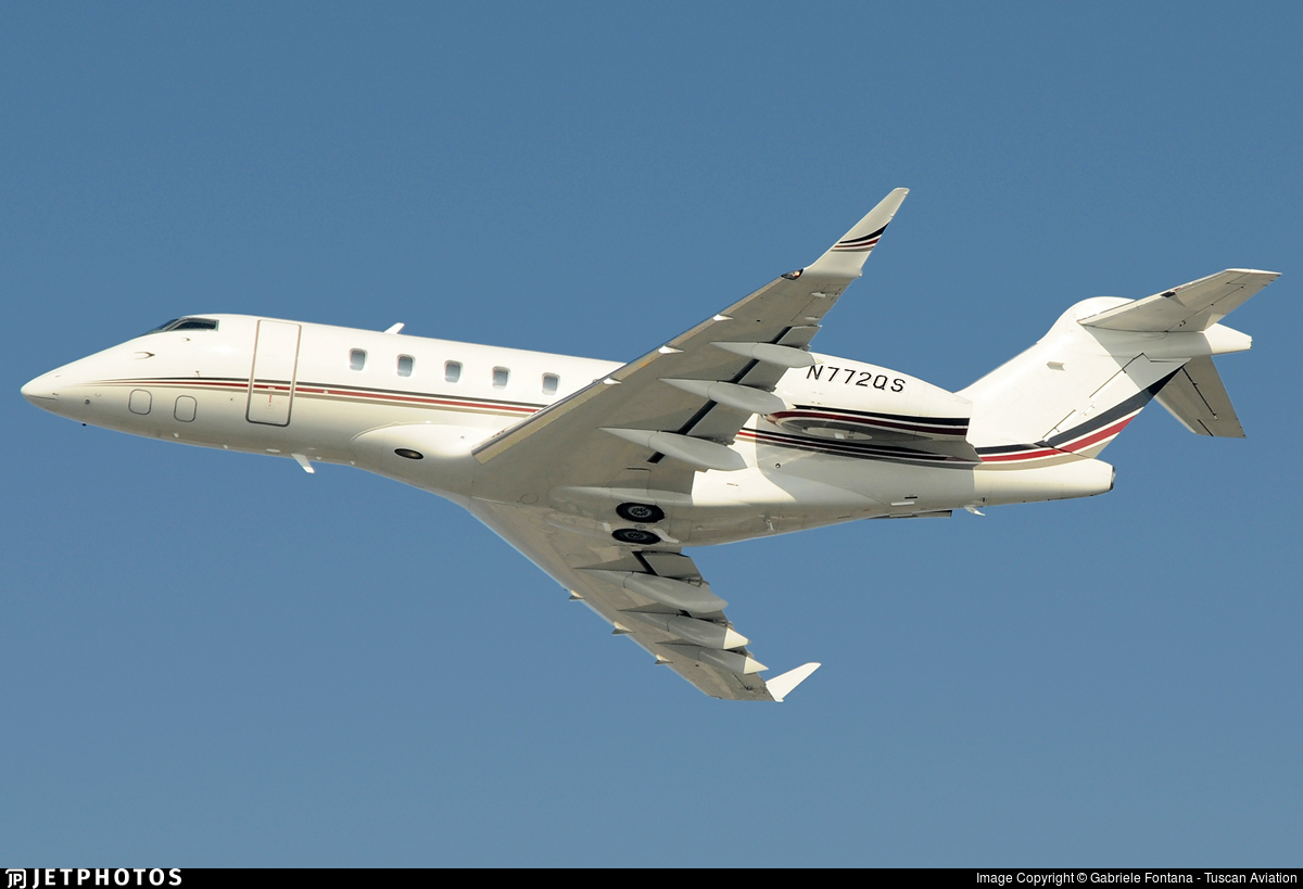 N772QS - Bombardier BD-100-1A10 Challenger 350 - NetJets Aviation