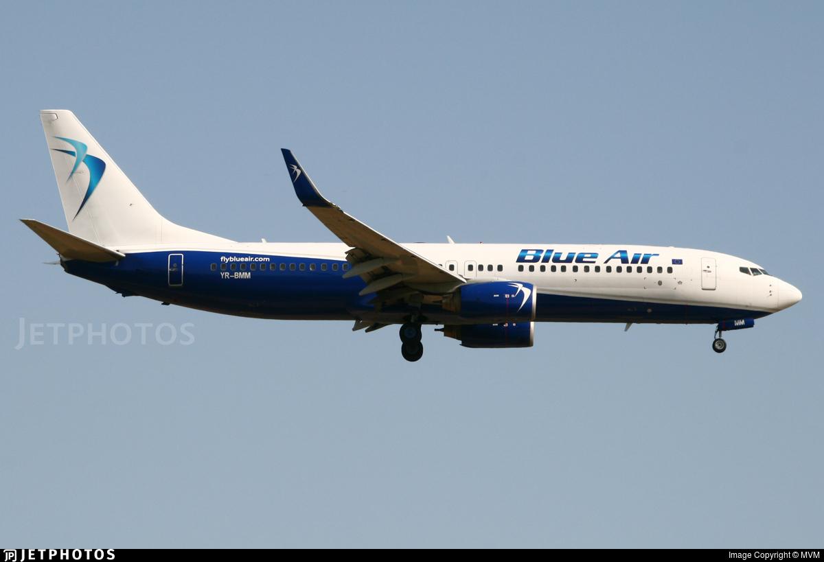 YR-BMM - Boeing 737-82R - Blue Air