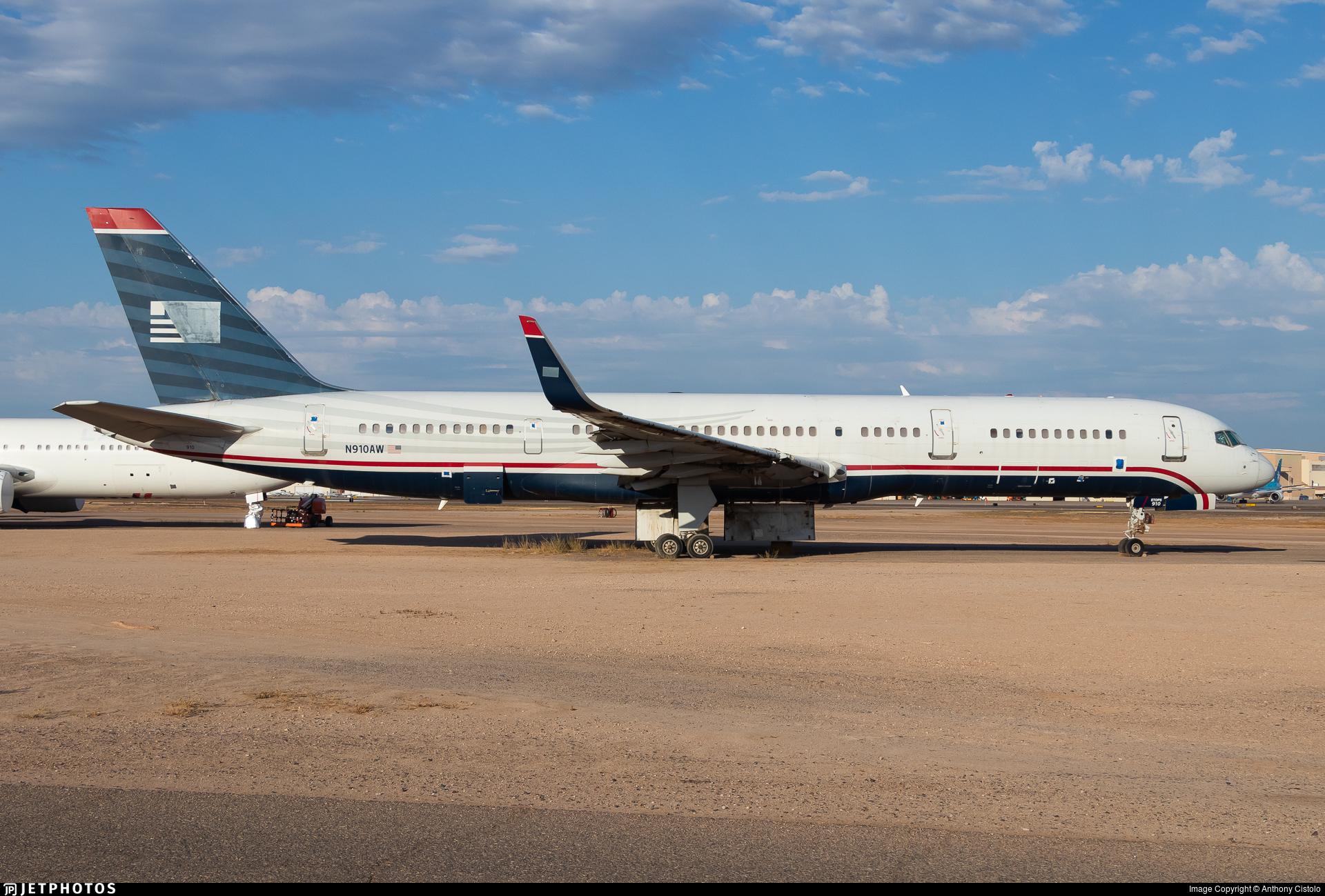 N910AW - Boeing 757-2G7 - Untitled