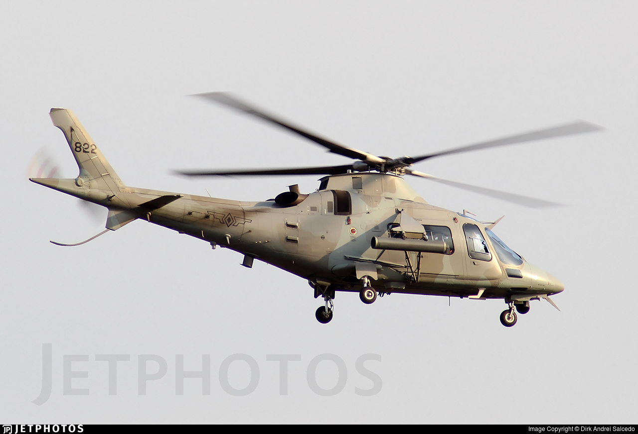 822 - Agusta-Westland AW-109E Power Elite - Philippines - Air Force