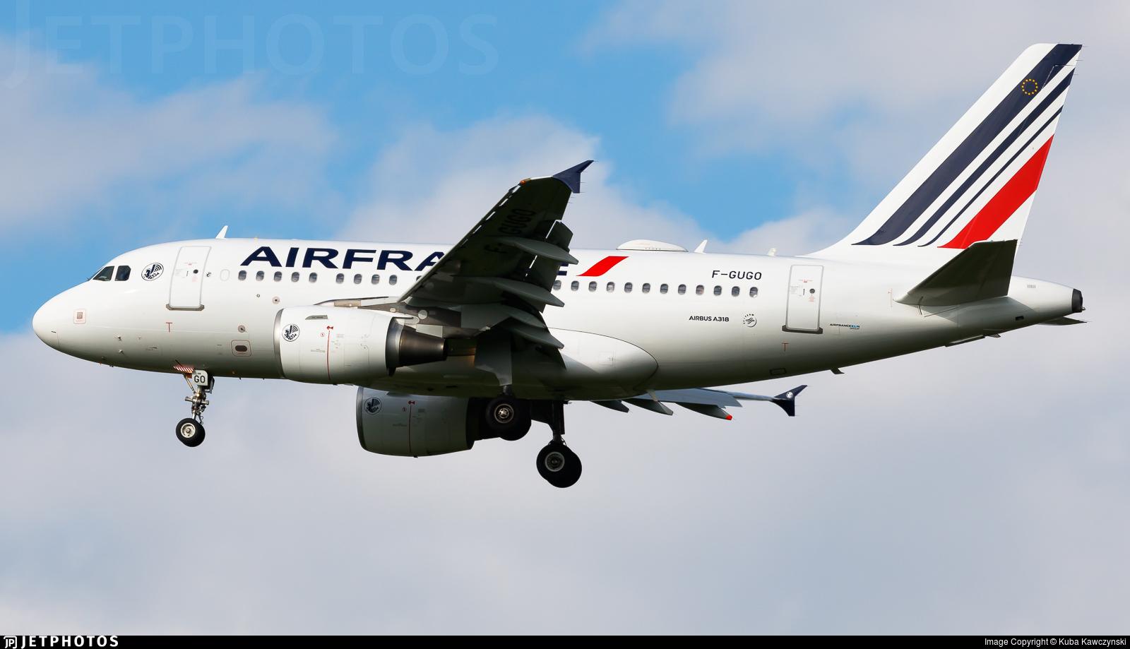 F-GUGO - Airbus A318-111 - Air France