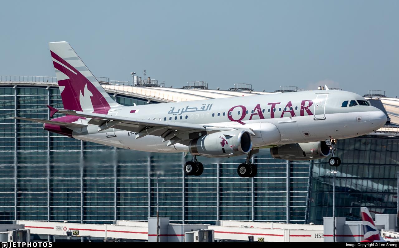 A7-MED - Airbus A319-133X(CJ) - Qatar - Amiri Flight