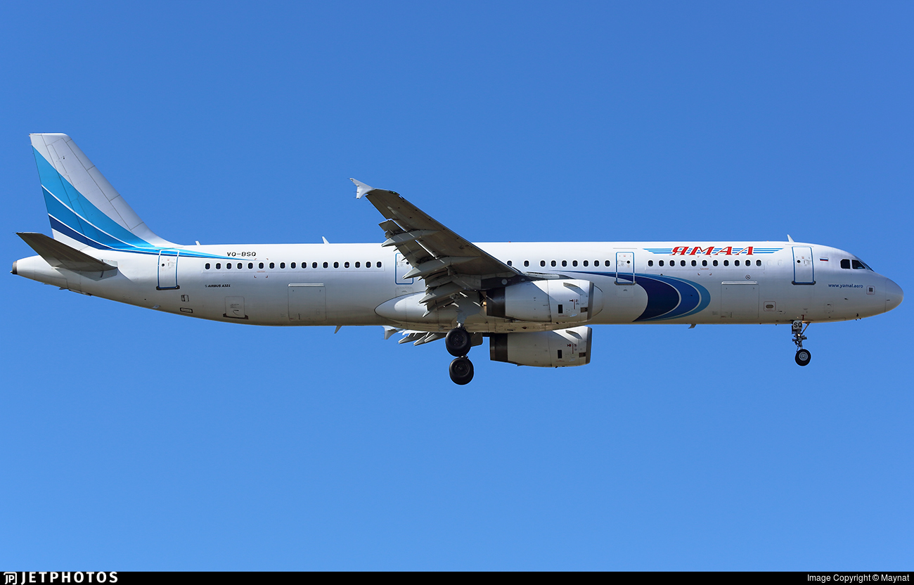 VQ-BSQ - Airbus A321-231 - Yamal Airlines