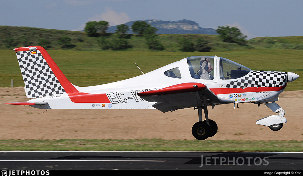 EC-KXZ - Tecnam P96 Golf - Private