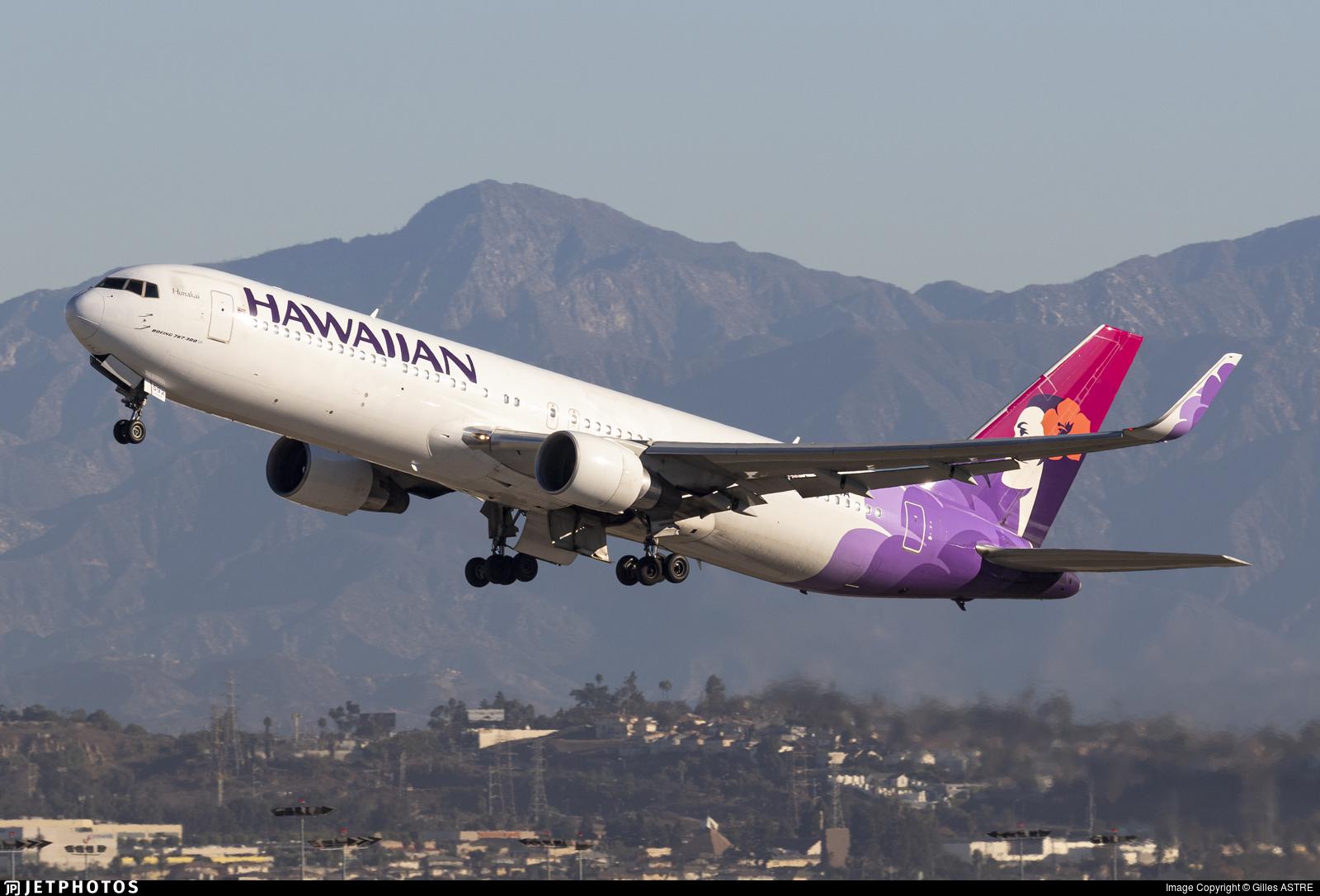 N592HA - Boeing 767-3CB(ER) - Hawaiian Airlines