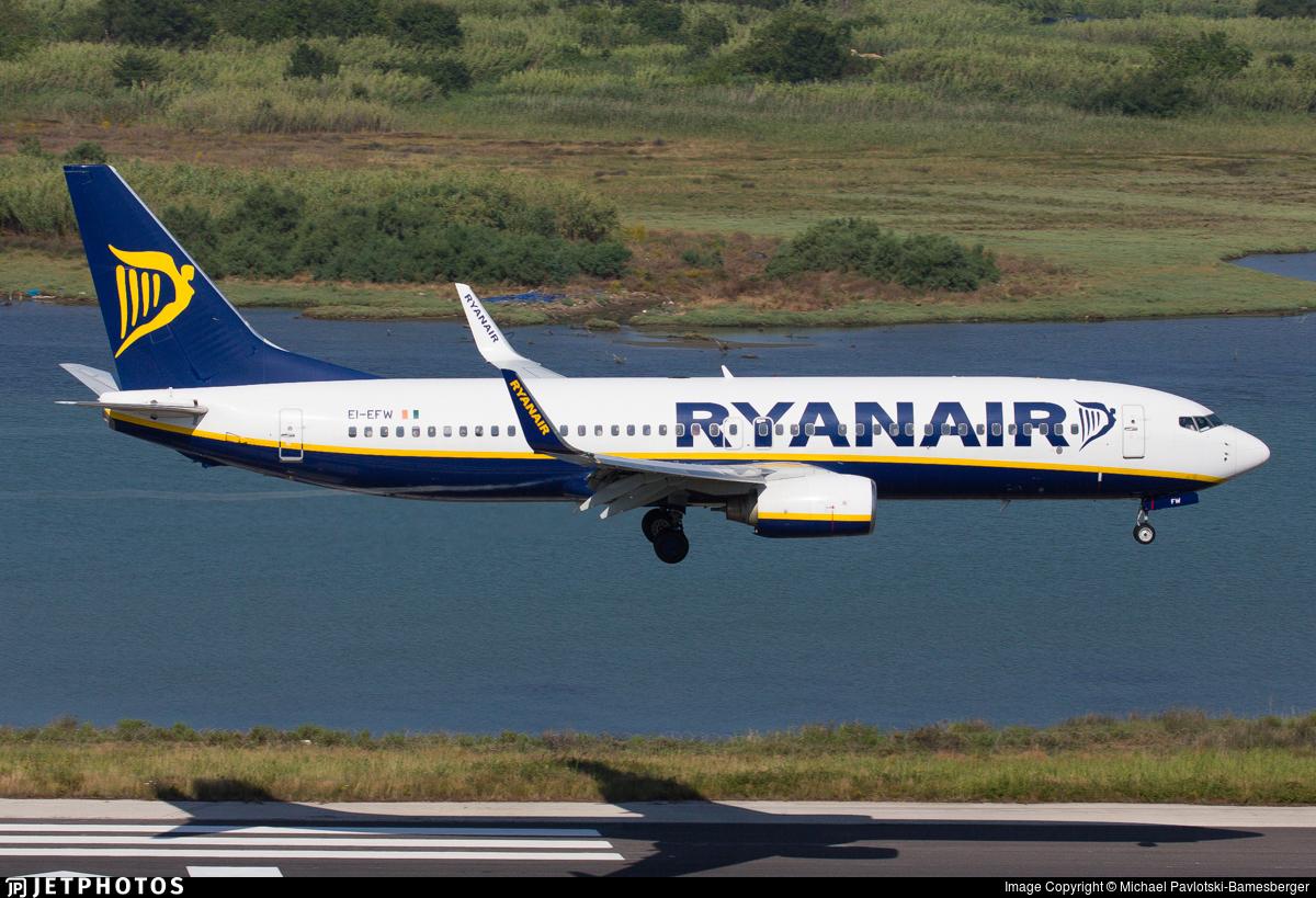 EI-EFW - Boeing 737-8AS - Ryanair