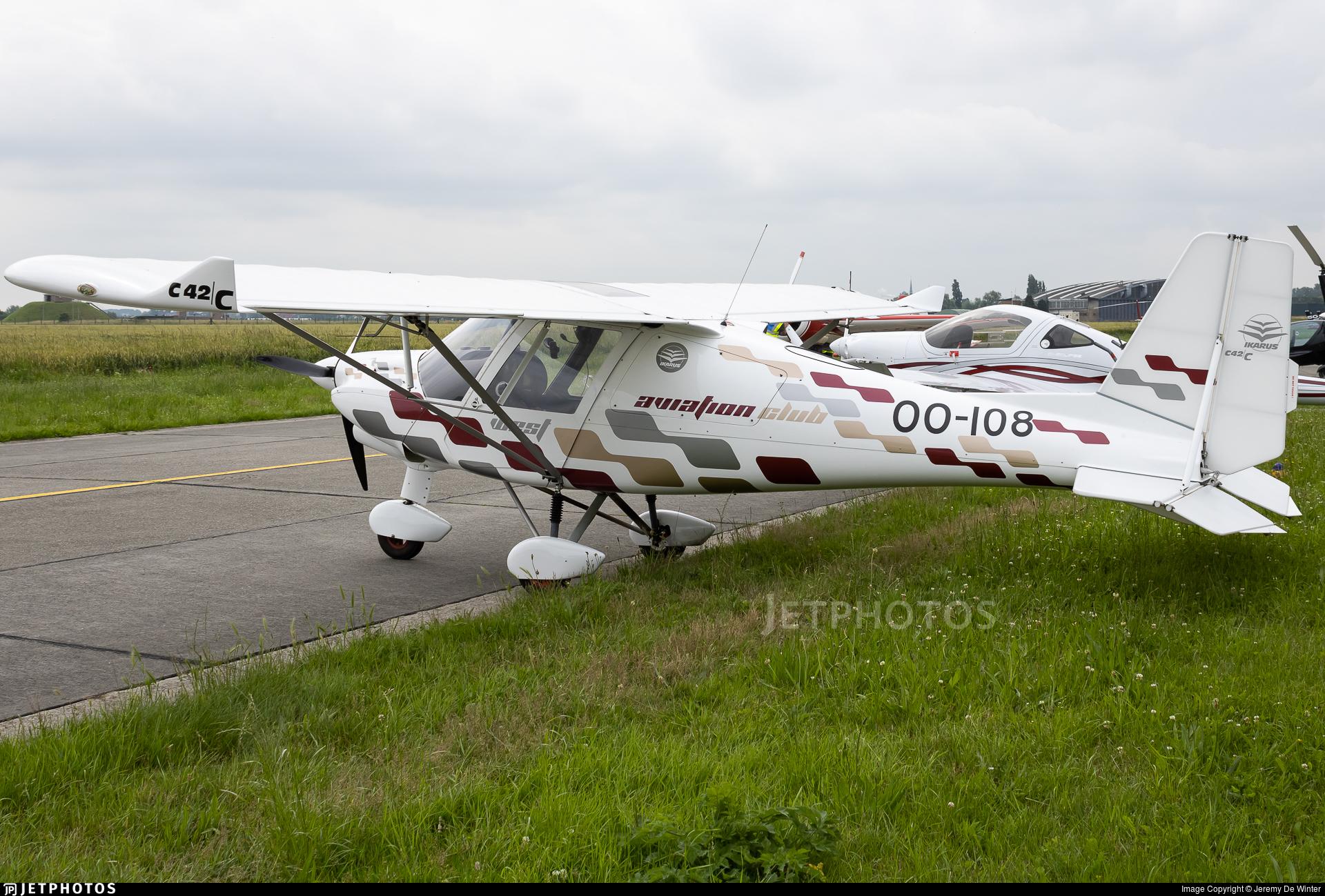OO-108 - Ikarus C-42C - Private