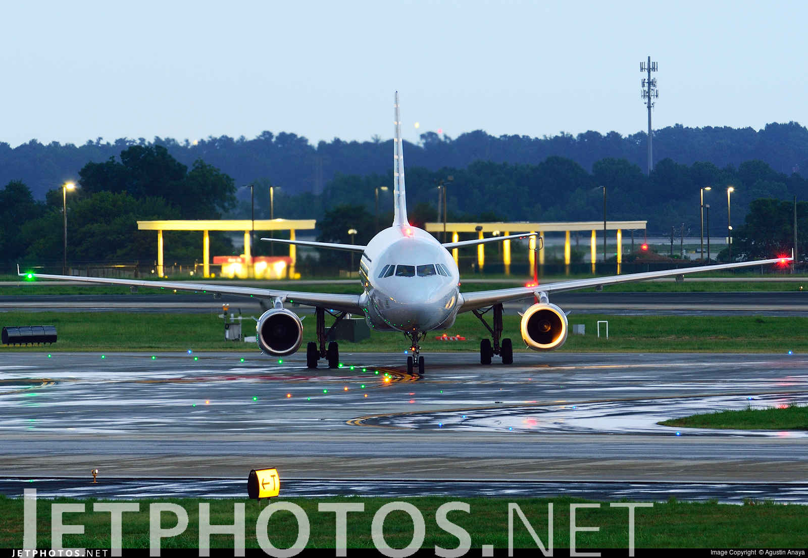 N831aw Airbus A319 132 American Airlines Agustin