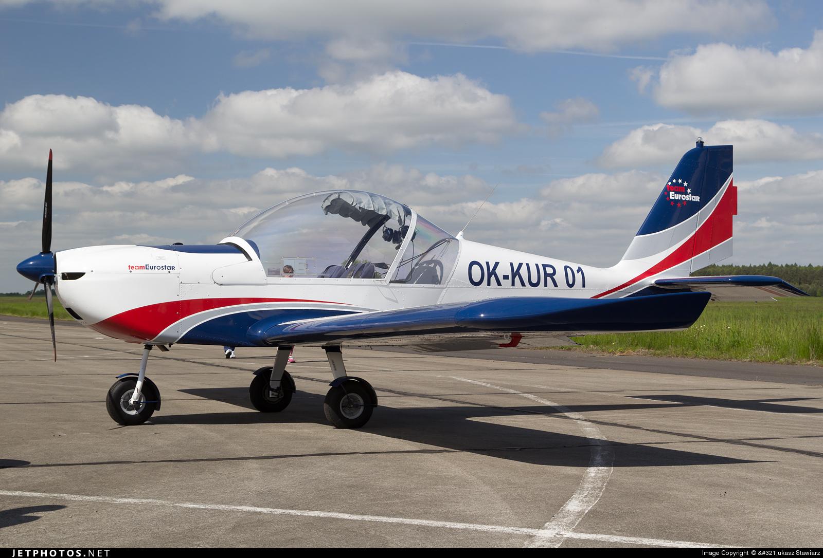 OK-KUR01 - Evektor-Aerotechnik EV97 Eurostar - Private