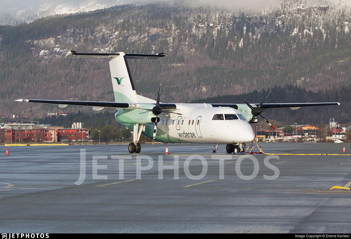 LN-WIH - Bombardier Dash 8-103 - Widerøe