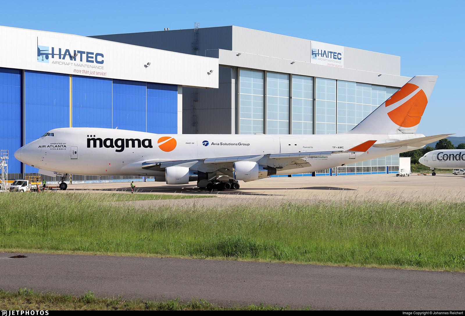 TF-AMC - Boeing 747-412F(SCD) - Magma Aviation (Air Atlanta Icelandic)