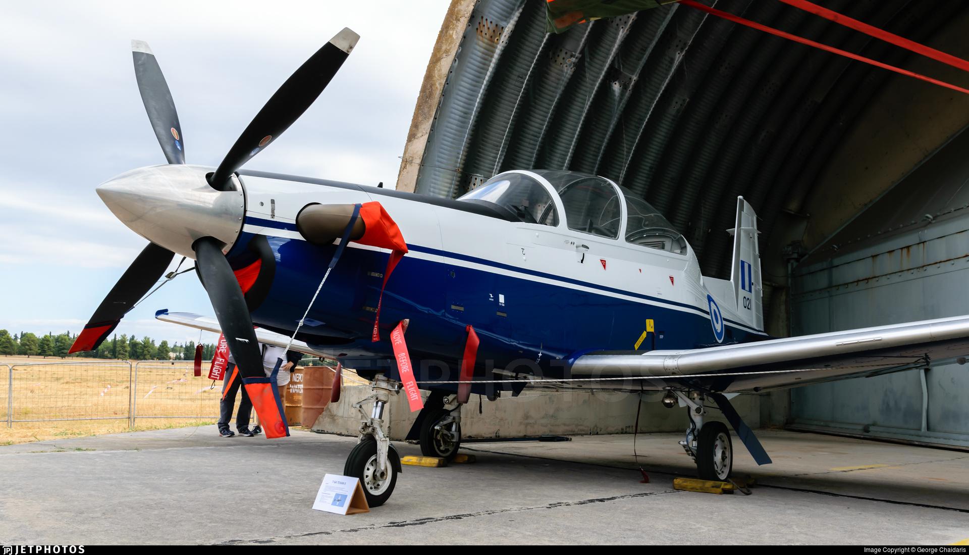 021 - Raytheon T-6A Texan II - Greece - Air Force