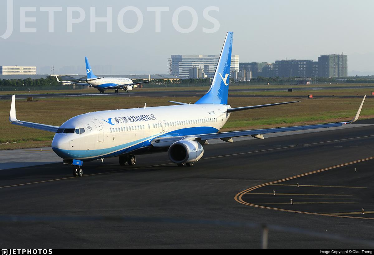 B-5605 - Boeing 737-86N - Xiamen Airlines