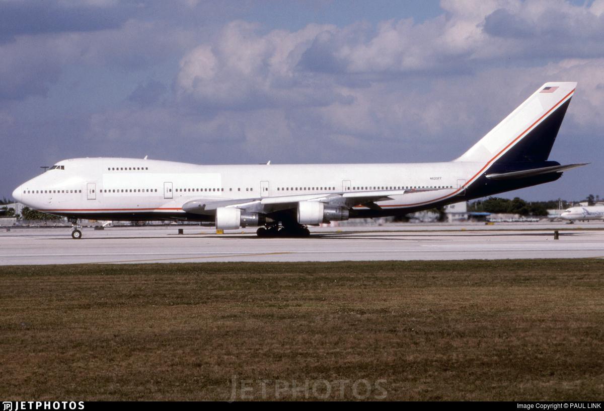 N620FF - Boeing 747-212B - Tower Air