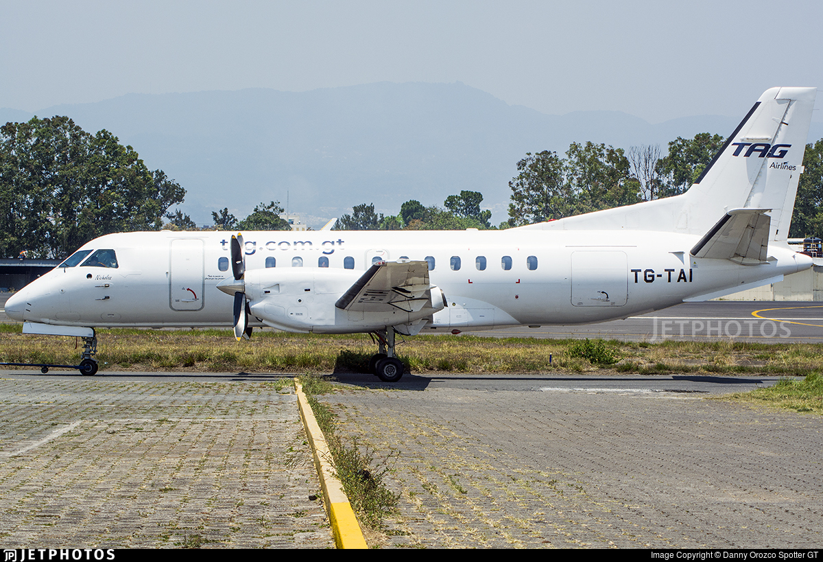 TG-TAI - Saab 340A - TAG Airlines - Transportes Aéreos Guatemaltecos