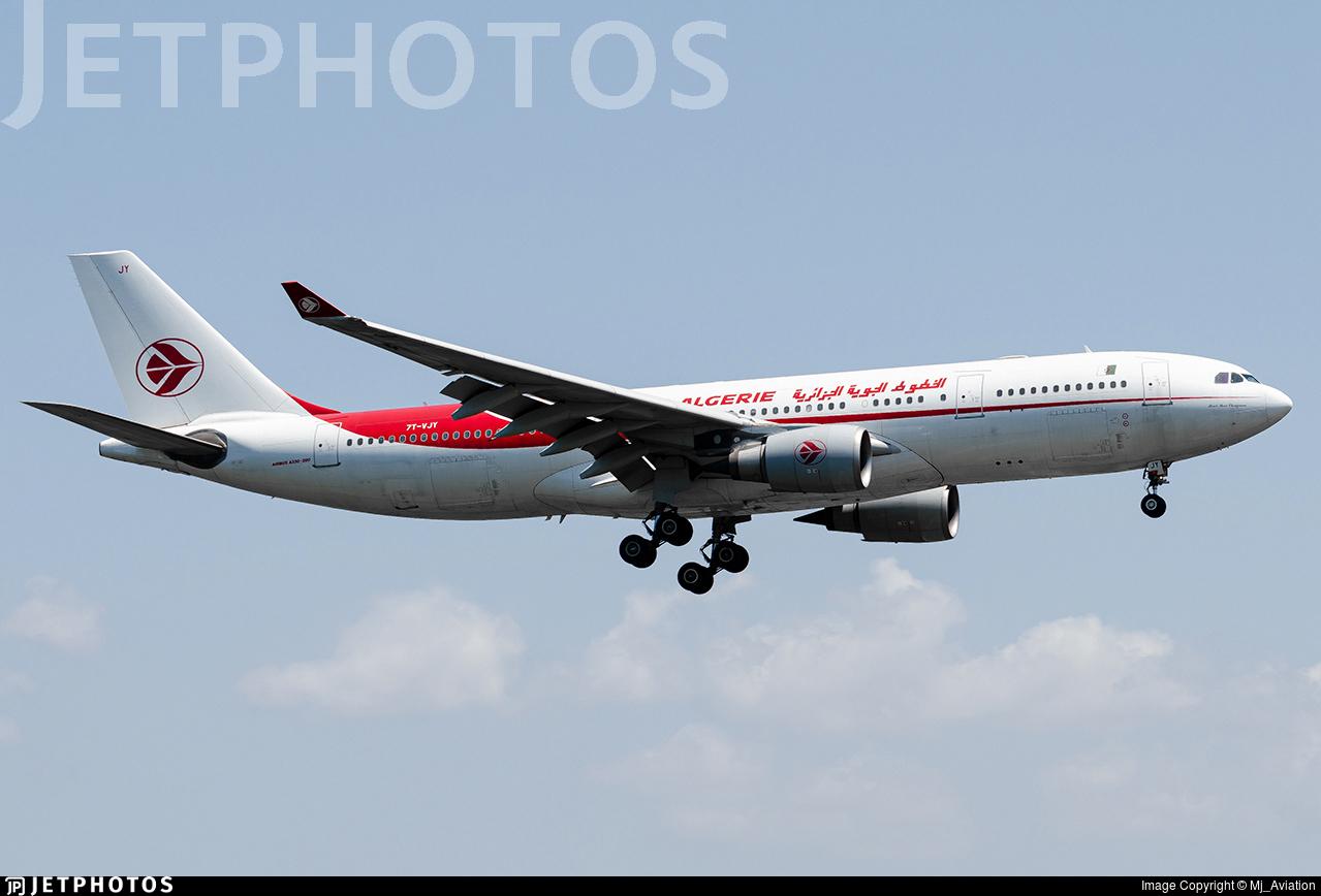 7T-VJY - Airbus A330-202 - Air Algérie