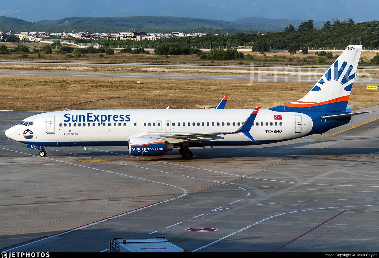 TC-SNO - Boeing 737-8HC - SunExpress