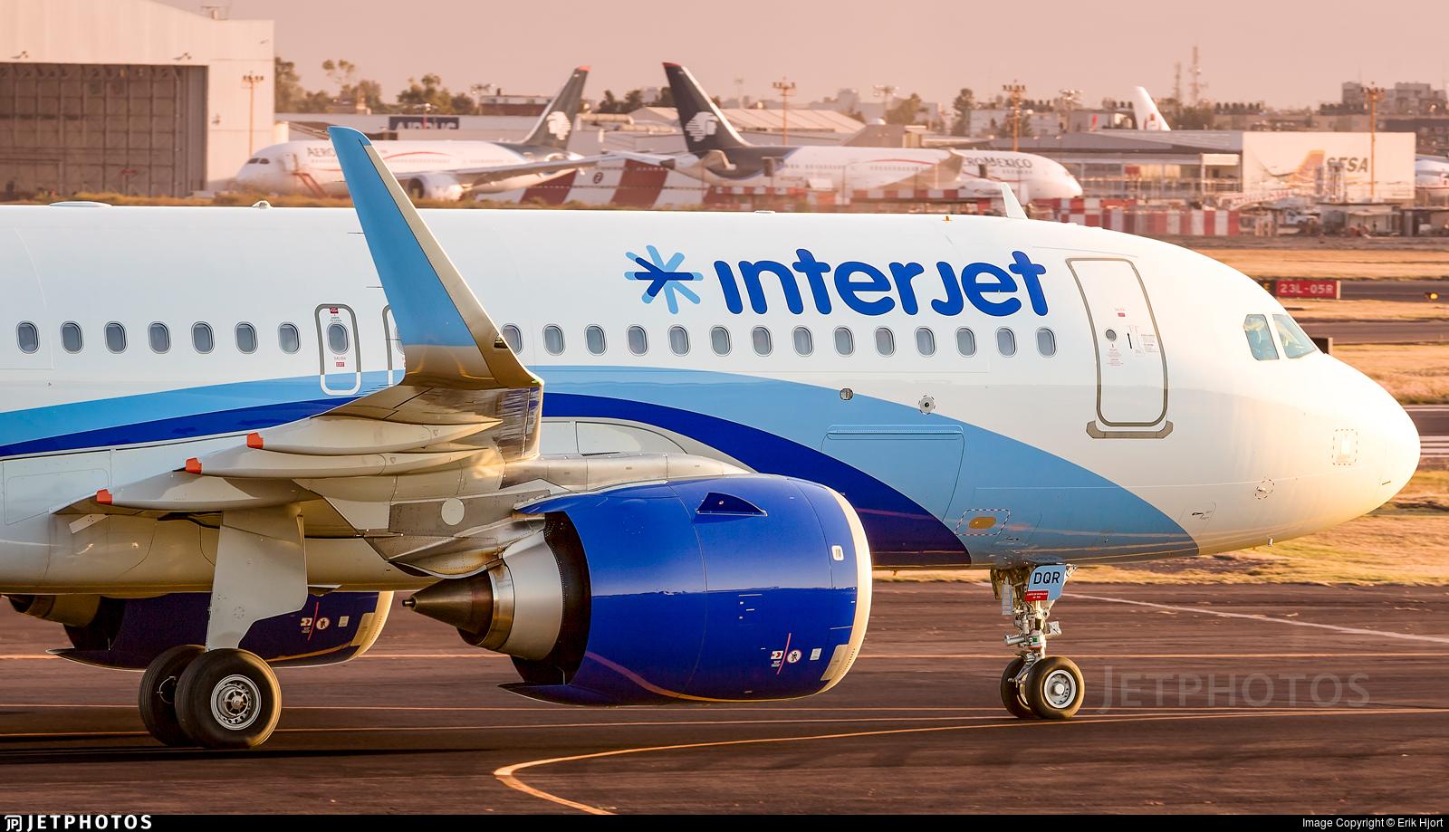 XA-DQR - Airbus A320-251N - Interjet
