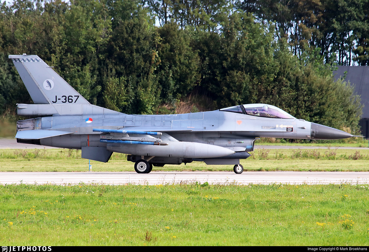 J-367 - General Dynamics F-16AM Fighting Falcon - Netherlands - Royal Air Force