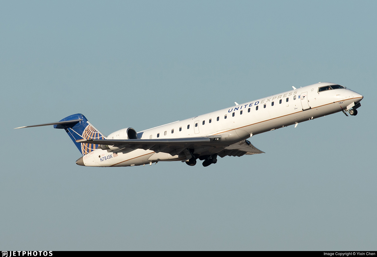 N784SK - Bombardier CRJ-701ER - United Express (SkyWest Airlines)